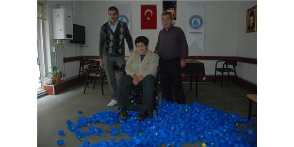 Mavi Kapak Kampanyasında 136. Tekerlekli Sandalye